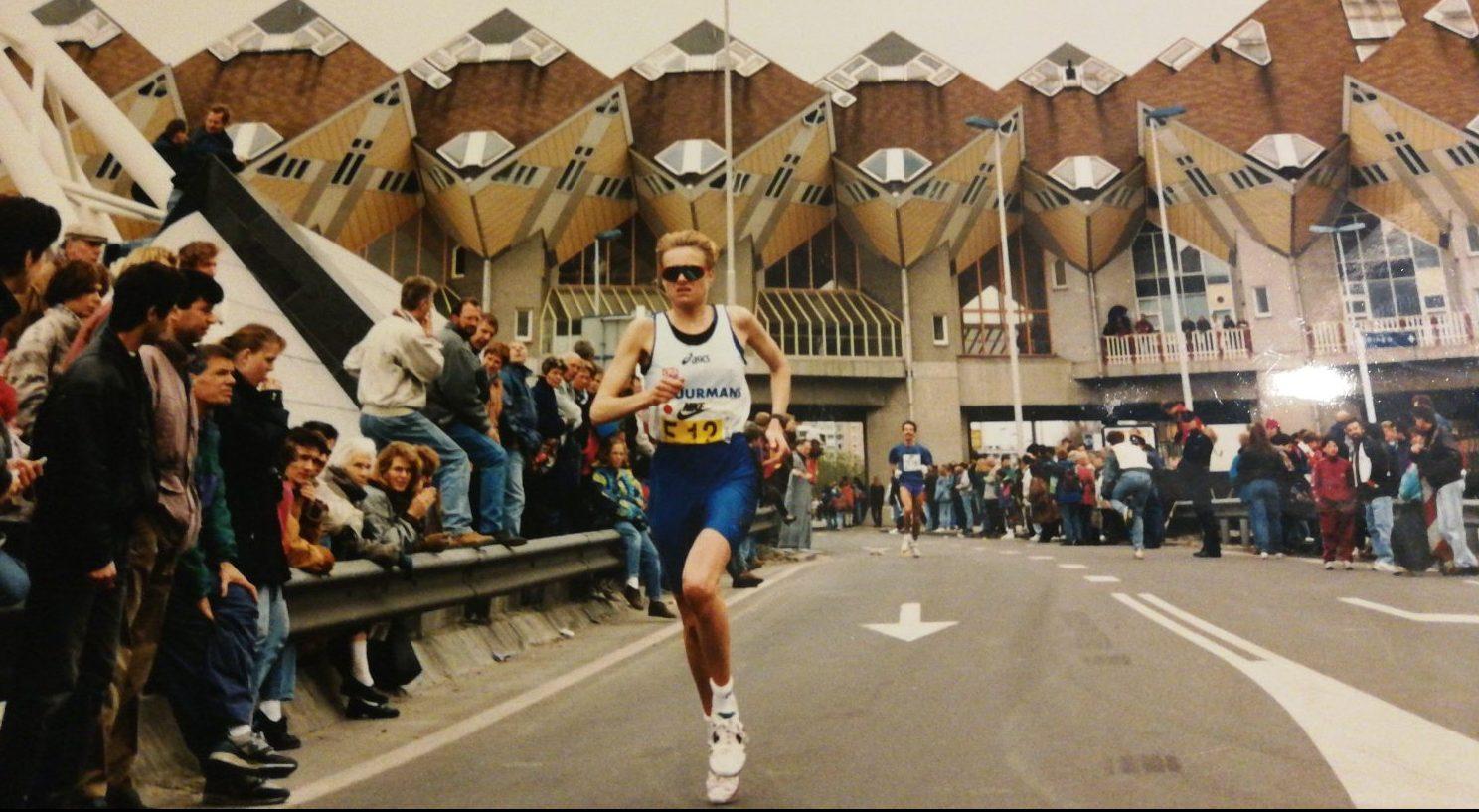 Marian Freriks marathon Rotterdam