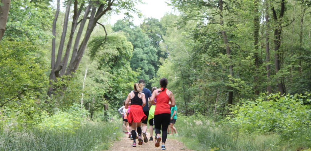 hardlopen is genieten bij Runspiration