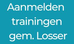 Aanmelden voor de trainingen in Losser